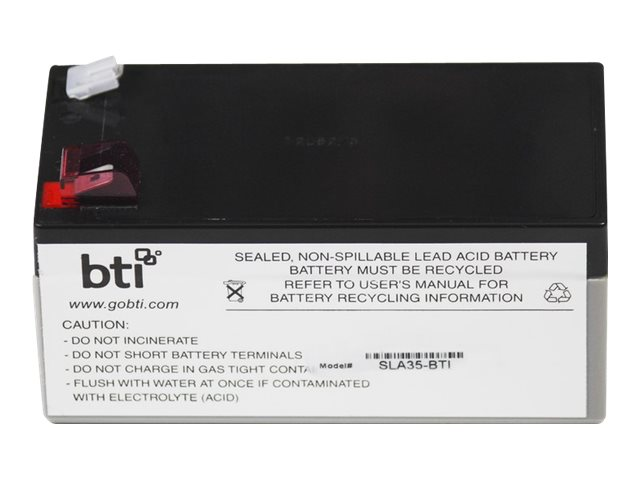BTI Replacement Battery #35 for APC - UPS battery - lead acid
