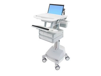 Ergotron StyleView Cart for notebook / keyboard / mouse (open architecture) medical