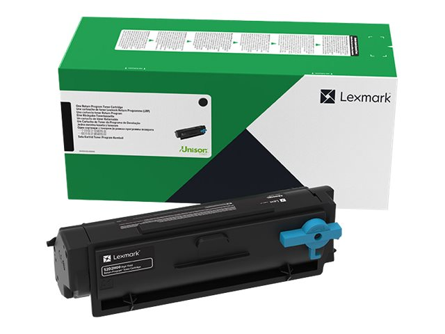 Lexmark - High Yield - black - original - toner cartridge -