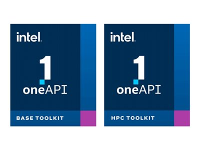 Intel oneAPI Base & HPC Toolkit - license + 1 Year Priority Support - 1 node, 1 named user