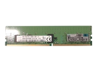 HPE SmartMemory - DDR4 - 8 GB - DIMM 288-pin - 2666 MHz / PC4-21300 - CL19 - 1.2 V - registered - ECC