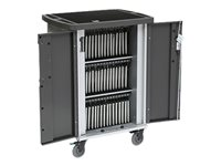 Bretford Ever Charging Cart Cart (charge only) for 45 tablets / notebooks lockable steel