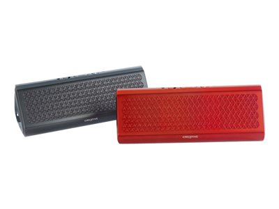 Creative Airwave HD Speaker for portable use wireless Bluetooth, NFC red