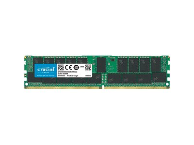 Crucial - DDR4 - 32 GB - DIMM 288-PIN - 2666 MHz / PC4-21300 - CL19
