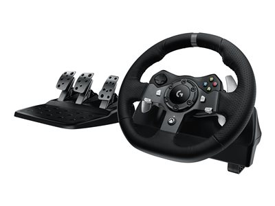 Logitech G920 Driving Force - wheel and pedals set - wired