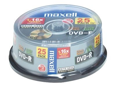 Maxell - DVD-R x 25 - 4.7 GB