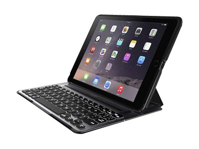 Belkin QODE Ultimate Pro - keyboard and folio case - black