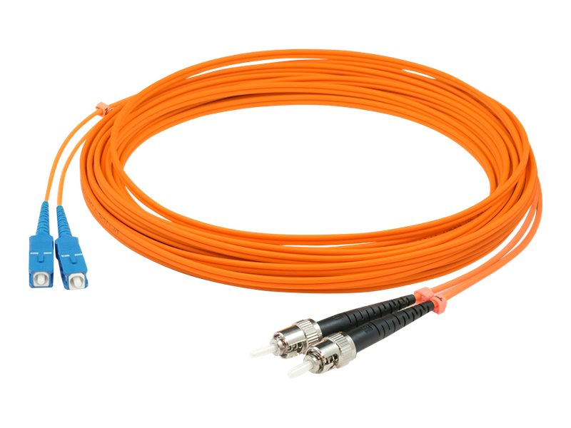 AddOn 4m SC to ST OM1 Orange Patch Cable - patch cable - 4 m - orange