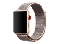 Apple 42mm Sport Loop - Bracelet de montre - 145-220 mm - sable rose - pour Watch (42 mm)