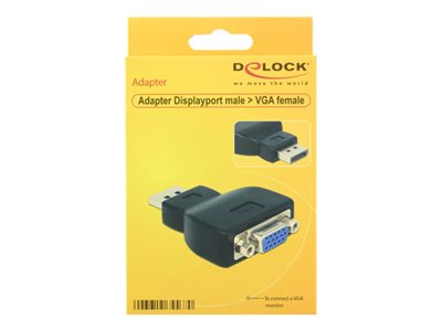 DeLOCK Videoanschluß - DisplayPort / VGA