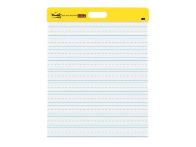 Post-it Self-Stick Wall Pad 566 Pad 20 in x 23 in 40 sheets (2 x 20) bright white -