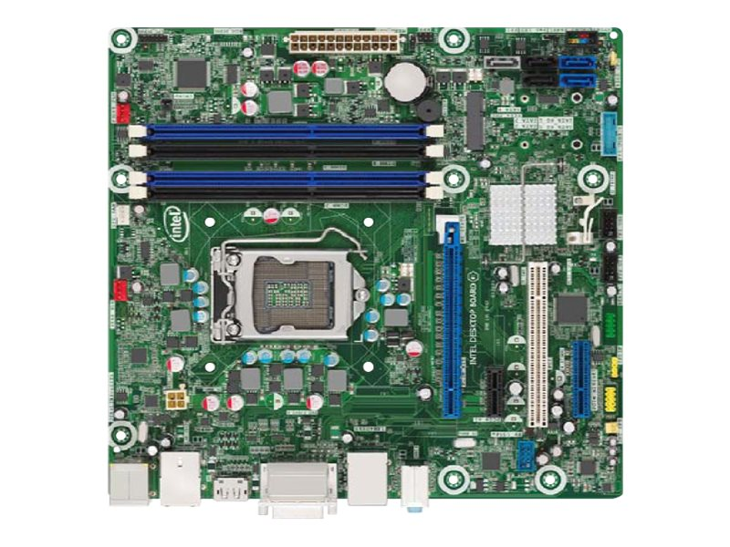 Intel Desktop Board DQ77MK - Media Series - motherboard - micro ATX - LGA1155 Socket - Q77