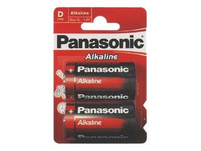Panasonic Alkaline Power LR20AP/2BP - Batterie 2 x D Alkalisch