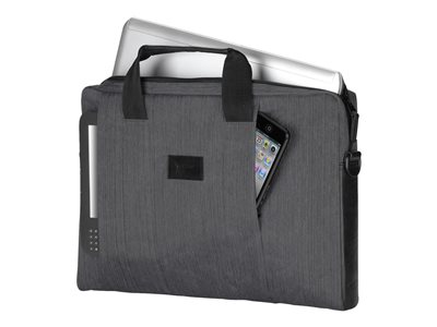Targus CitySmart Laptop Slipcase Notebook sleeve 15.6INCH gray