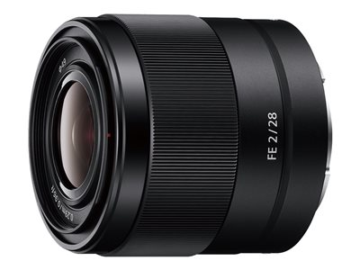 Sony SEL28F20 - wide-angle lens - 28 mm