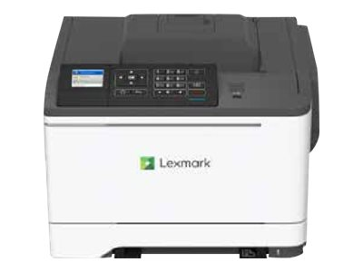 Lexmark C2535dw - Printer - color - Duplex - laser - A4/Legal - 1200 x 1200 dpi - up to 25 ppm (mono) / up to 25 ppm (color) - capacity: 250 sheets - USB 2.0, LAN, Wi-Fi(n), USB 2.0 host with 1 year Advanced Exchange Service