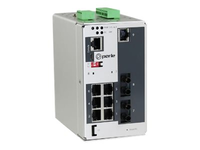 Perle IDS-409G2-T2SD10-XT - switch - 9 ports - managed