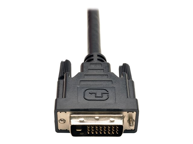 Tripp Lite 1ft DVI Y Splitter Video Monitor Cable DVI-D M/2xF 1'