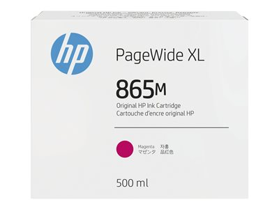 HP 865M - magenta - original - PageWide XL - ink cartridge