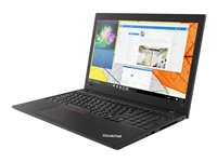 "Lenovo ThinkPad L580 20LW - Core i5 8250U / 1.6 GHz - Win 10 Pro 64 bits - 8 Go RAM - 256 Go SSD TCG Opal Encryption 2, NVMe - 15.6"" IPS 1920 x 1080 (Full HD) - UHD Graphics 620 - Wi-Fi, Bluetooth - noir"