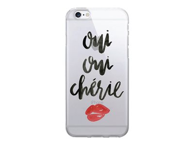 OTM Prints Series Oui Oui Cherie Back cover for cell phone clear -