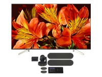Picture of Logitech Tap for Microsoft Teams Large Rooms - video conferencing kit - with Sony FW-55BZ35F BRAVIA