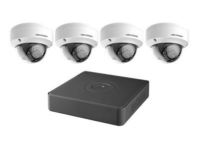 Hikvision TurboHD T7104Q1TB DVR + camera(s) wired LAN 10/100 4 channels 1 x 1 TB