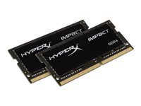 HyperX Impact DDR4  32GB kit 2666MHz CL15  Ikke-ECC SO-DIMM  260-PIN