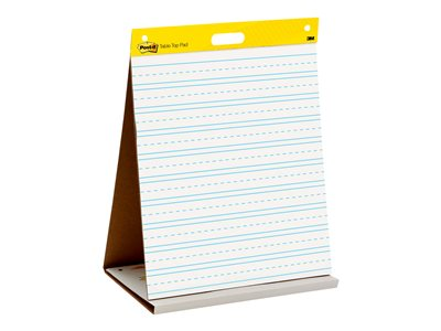 Post-it Tabletop Easel Pad Easel pad 20 in x 23 in 20 sheets bright white