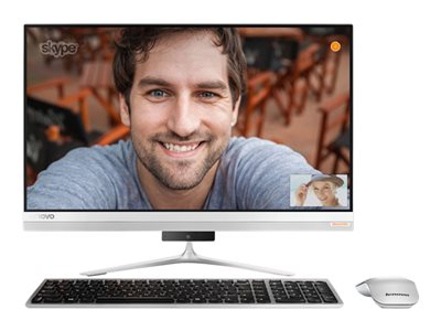 Lenovo IdeaCentre 520S-23IKU F0CU All-in-one 1 x Core i7 7500U / 2.7 GHz RAM 16 GB