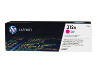 HP 312A - Magenta - original - LaserJet - toner cartridge ( CF383A ) - for Colour LaserJet Pro MFP M476dn, MFP M476dw, MFP M476nw