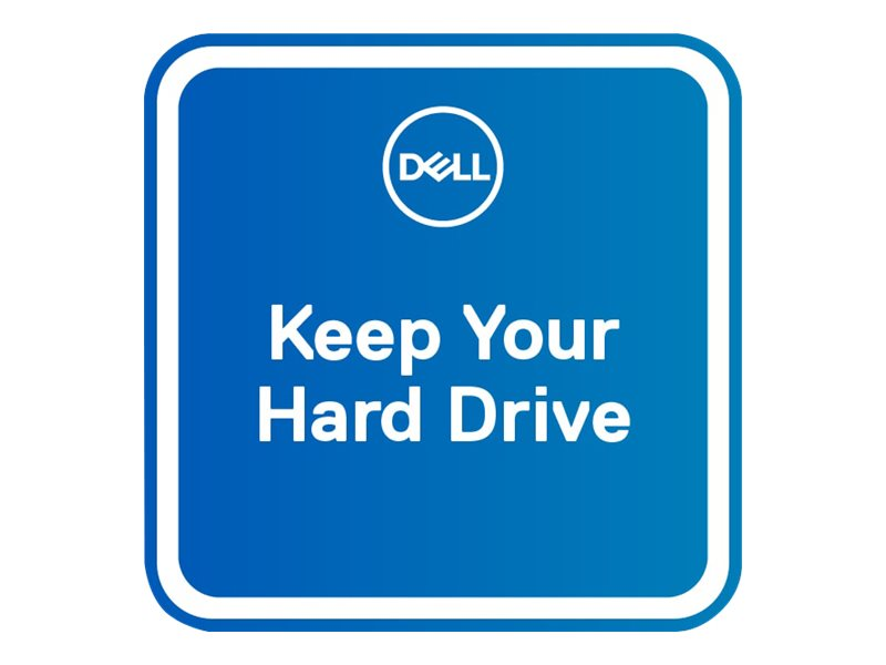 Dell 5Y Keep Your Hard Drive - extended service agreement - 5 years