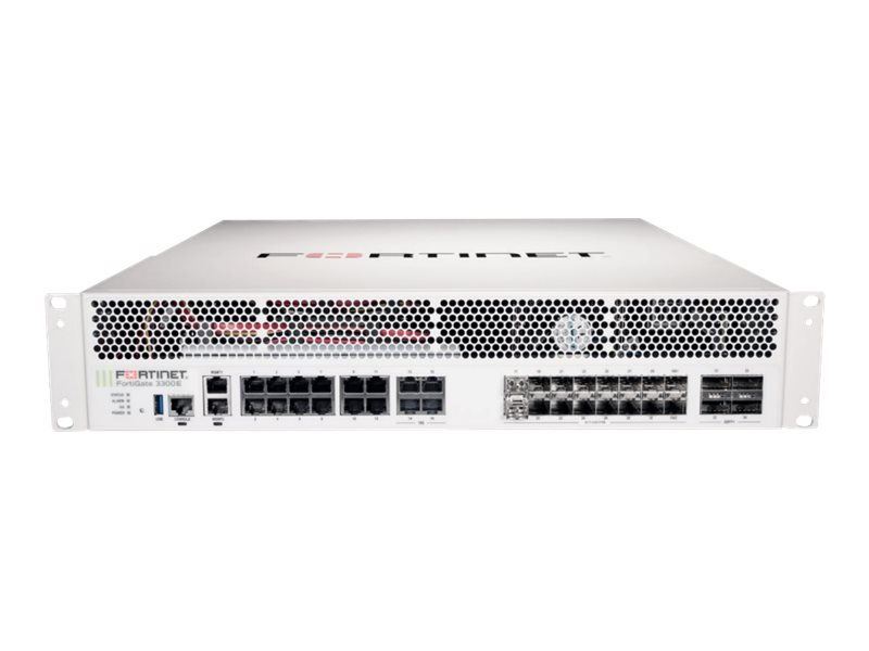 Fortinet FortiGate 3301E - security appliance - with 1 year 360 Protection Bundle