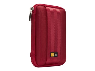 Case Logic Portable Hard Drive Case Storage drive carrying case red