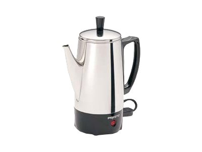 Presto 02822 Electric percolator 6 cups stainless steel