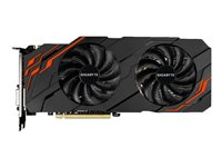 Gigabyte GeForce GTX 1070 Ti WINDFORCE 8G - Carte graphique - GF GTX 1070 Ti - 8 Go GDDR5 - PCIe 3.0 x16 - DVI, HDMI, 3 x DisplayPort