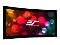 Elite Screens Lunette Series Curve135H-A1080P3 Projection screen wall mountable