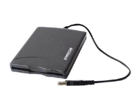 Freecom - Disk drive - Floppy Disk (1.44 MB) - USB - external - black