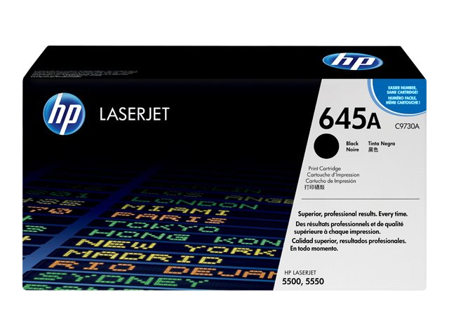 HP Color LaserJet C9730A Black Print Cartridge 5500 Series