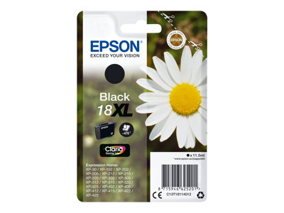 Epson 18XL Sort 470 sider