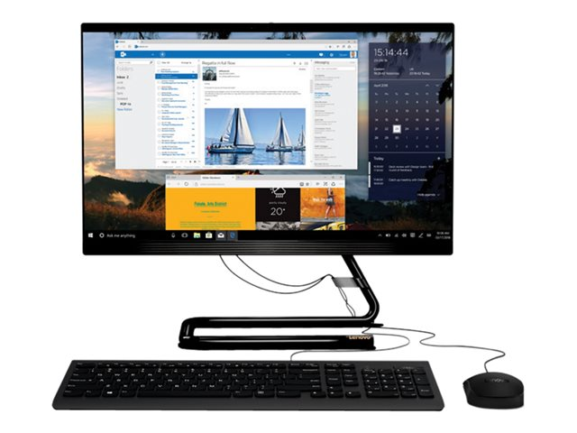 """Image of Lenovo IdeaCentre 3 22ADA05 - all-in-one - Athlon Silver 3050U 2.3 GHz - 4 GB - SSD 128 GB - LED 21.5"""" - UK"""