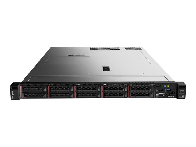 Lenovo ThinkSystem SR630 - Montable sur rack - Xeon Gold 6134 3.2 GHz - 32 Go