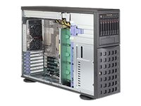 Supermicro SuperServer 7048R-C1RT Server tower 4U 2-way no CPU RAM 0 GB SATA/SAS