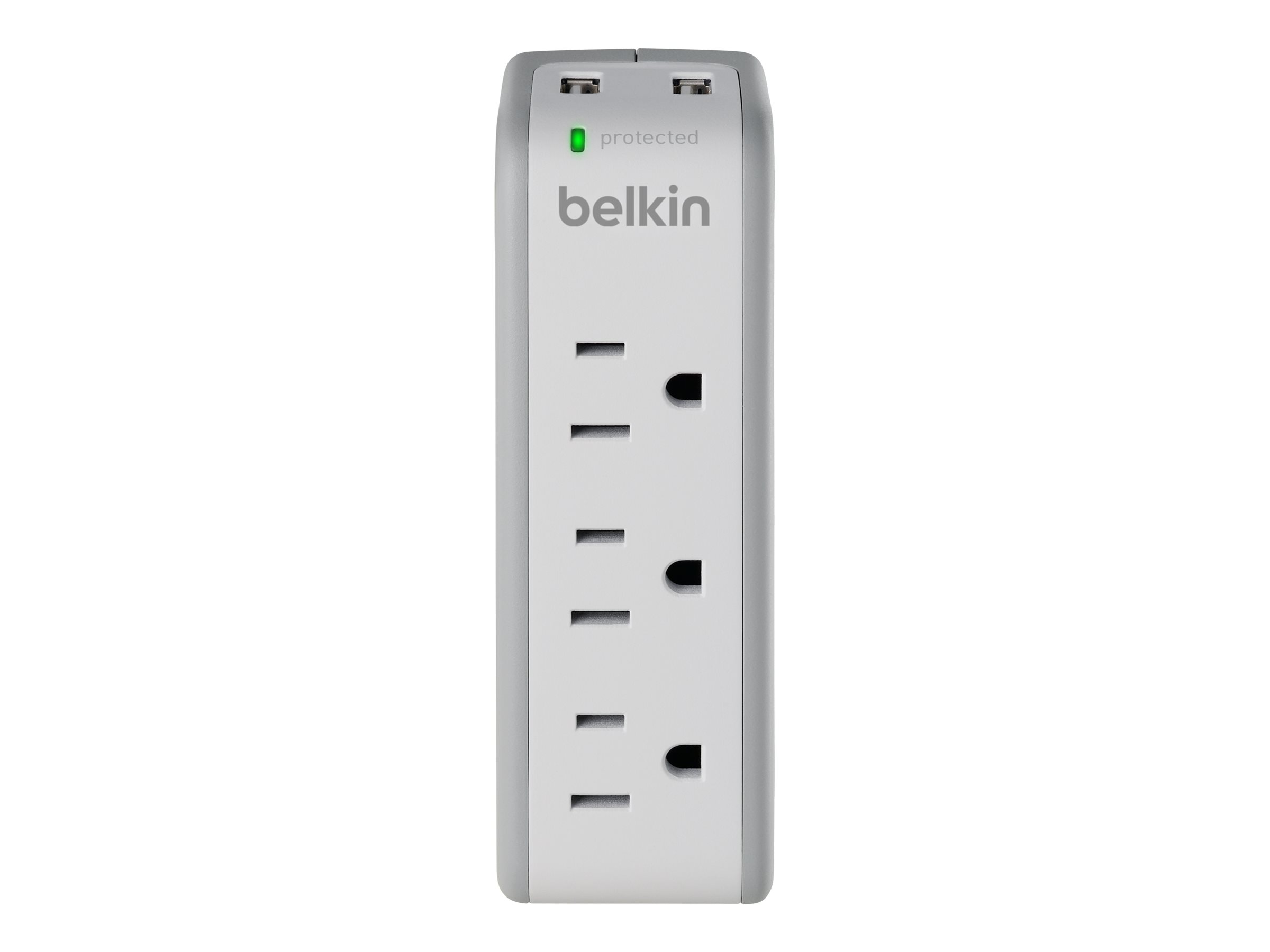 Belkin Mini Surge Protector with USB Charger - surge protector