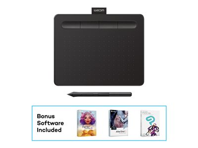 Wacom Intuos Creative Pen Small Digitizer 6 x 3.7 in electromagnetic 4 buttons wired
