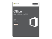 Microsoft Office for Mac Home and Business 2016 - Box pack - 1 Mac - medialess, P2 - Mac - English - Eurozone