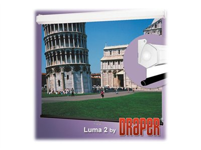 Draper Luma 2 16:9 HDTV Format Projection screen ceiling mountable, wall mountable