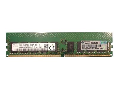 E - DDR4 - 16 GB - DIMM 288-PIN - ungepuffert