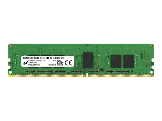 Micron - DDR4 - module - 8 GB - DIMM 288-pin - 2666 MHz / PC4-21300 - registered with parity