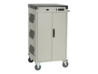 Black Box Deluxe Charging Cart Cart (charge only) for 36 notebooks lockable